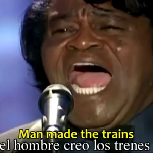 JamesBrown&Pavarotti-It's a man's world