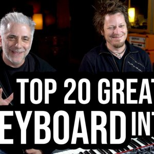 TOP 20 KEYBOARD INTROS OF ALL TIME